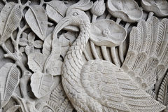 Balinese stone carving Stock Photo
