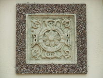Balinese stone Royalty Free Stock Image