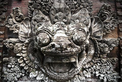 Balinese stone sculpture Stock Photography