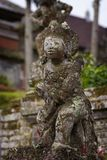 Balinese Stone Statuary at the Hindu Temple. royalty free stock image
