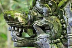 Balinese stone statue Stock Photo