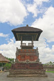 Balinese style pavilion in Hindu temple Royalty Free Stock Photography