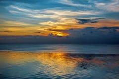 Balinese sunset Royalty Free Stock Images