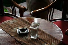 Balinese table Stock Image