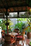 Balinese table Royalty Free Stock Image