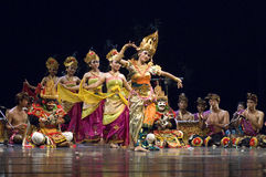 Balinese-Tanz lizenzfreies stockfoto