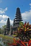 Balinese tempel Pura Taman Ayun Stock Afbeeldingen