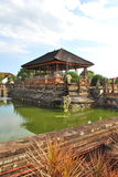 Balinese Temple. A Temple at the Hall of Justice in Bali, Indonesia royalty free stock image