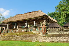 Balinese Temple. A hindu temple in Bali, Indonesia royalty free stock photo