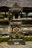 Balinese temple. In monkey forest, Ubud Stock Photos