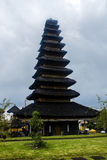 Balinese temple. At Pura Besakih Complex Royalty Free Stock Photo