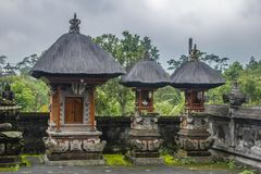 Balinese temple. S Pura Besakih. Indonesia Stock Photos