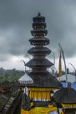 Balinese temple. S Pura Besakih. Indonesia Royalty Free Stock Image