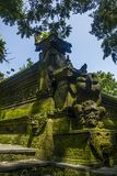 Balinese temple. A corner of Balinise traditional temple Royalty Free Stock Photo
