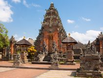 In the Balinese temple. Bali. Indonesia Stock Photography
