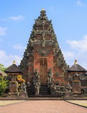 In the Balinese temple. Bali. Indonesia Stock Photos