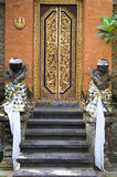 Balinese temple door Royalty Free Stock Images