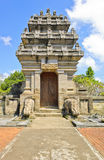 Balinese temple gate Royalty Free Stock Image