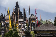 Balinese temple Pura Besakih Stock Photo