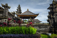 Balinese temple Stock Images