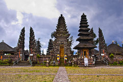 Balinese Temple Shrines Stock Photo