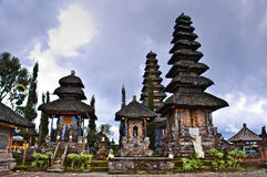 Balinese Temple Shrines Royalty Free Stock Photography