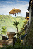 Balinese Temple Umbrella. Royalty Free Stock Image