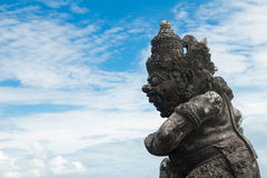 Balinese traditional art statue Stock Photography