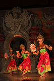 Balinese traditional dance Stock Photos