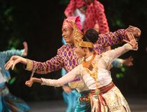 BALINESE TRADITIONAL DANCE Royalty Free Stock Images