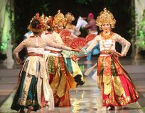 BALINESE TRADITIONAL DANCE Stock Photos