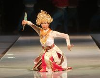 BALINESE TRADITIONAL DANCE Royalty Free Stock Photos