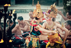 Balinese Traditional Dance Royalty Free Stock Photography