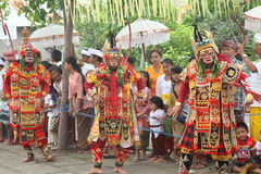 Balinese Traditional Dance Stock Photography