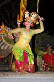 Balinese Traditional Dancer Stock Images