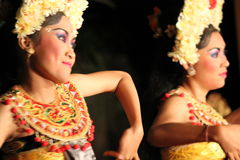 Balinese traditional Dancers (women) Stock Image