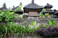 Balinese traditional house Stock Photography