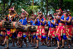 Balinese Traditional Musical Instruments Royalty Free Stock Image