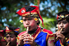 Balinese traditional musical instruments Royalty Free Stock Images