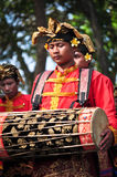 Balinese traditional musical instruments Stock Image