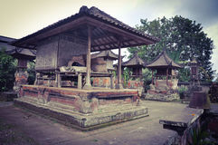 Balinese traditioneller Gazebo Stockfoto
