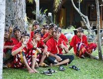 Balinese-traditioneller Tänzer Stockfotos