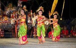Balinese-traditioneller Tänzer Lizenzfreies Stockfoto