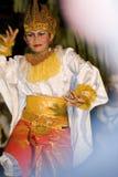 Balinese-traditioneller Tänzer Stockfotografie
