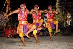 Balinese-traditioneller Tänzer Lizenzfreies Stockbild