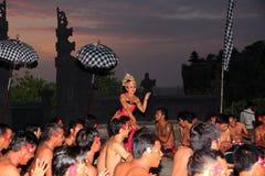 Balinese-traditioneller Tanz Lizenzfreie Stockfotografie