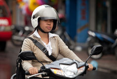Balinese traffic Stock Image