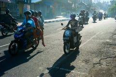Balinese traffic Royalty Free Stock Images