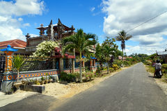 Balinese village in Tentena Royalty Free Stock Photo