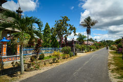 Balinese village in Tentena Royalty Free Stock Image